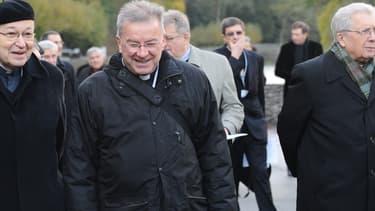 Luigi Ventura à Lourdes en novembre 2012.