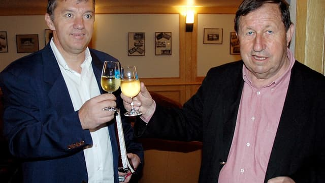 Guy Roux et Jacques Santini