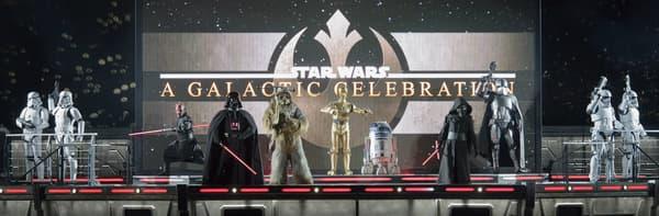 "Le spectacle ""Star Wars : Une Galaxie Lointaine, Très Lointaine"""