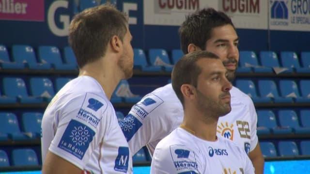 Les joueurs de Montpellier