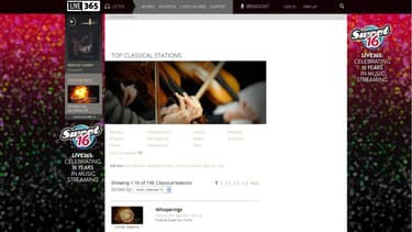 Classical Live proposera des enregistrements exclusifs de prestigieux orchestres.