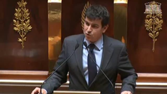 Nicolas Dhuicq, député UMP de l'Aube.