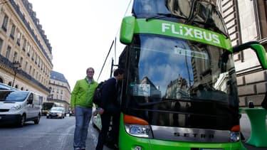 Flixbus garantit un nettoyage approfondi de ses cars avant le trajet et la désinfection après le trajet.