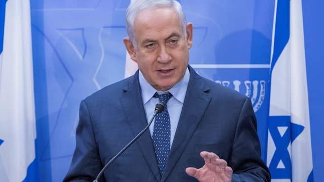 Benjamin Netanyahu, le 24 juillet 2017.
