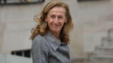 La ministre de la Justice, Nicole Belloubet, le 7 mai 2019 à l'Elysée.