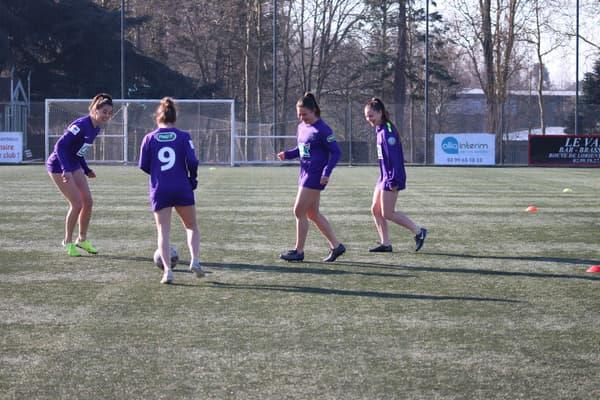 Les joueuses du CPB Bréquigny