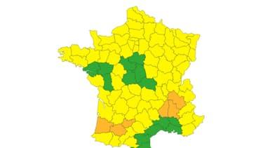 Trois départements en vigilance orange pour des chutes de neige
