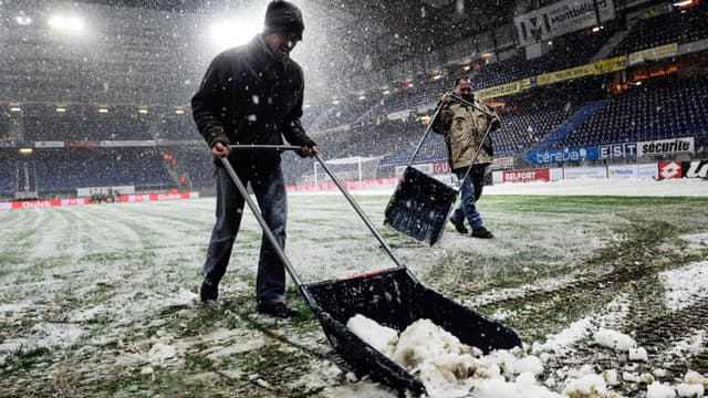 Bonal sous la neige