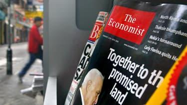 Un numéro de The Economist en kiosque, en 2005.