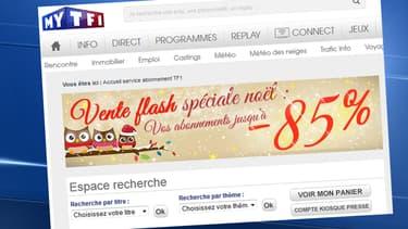 """Les pirates ont réussi à hacker le service """"abonnement presse"""" de TF1, mais la faille a été corrigée depuis."""