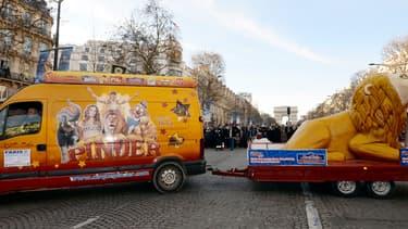 Le chiffre d'affaires du cirque Pinder est passé de 7,5 millions d'euros en 2014 à 5,2 millions d'euros en 2017. (image d'illustration)