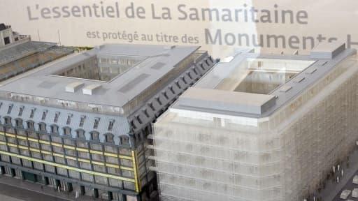 LVMH va investir 460 millions d'euros pour transformer l'ancienne Samaritaine.