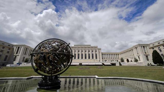 Les bureaux de l'ONU à Genève