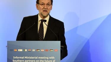 Mariano Rajoy est actuellement en campagne en vue des élections municipales et régionales.