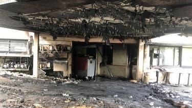 L'incendie a eu lieu très tôt ce lundi matin à l'Amphitryon à Colomiers (Haute-Garonne)