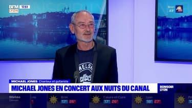 Michael Jones en concert à Villeurbanne ce week-end