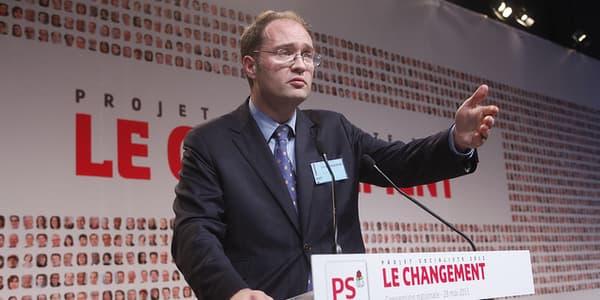 Guillaume Bachelay est désormais numéro 2 du PS.