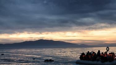 Les réfugiés affluent sur l'île grecque de Lesbos (photo d'illustration).