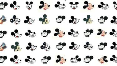 Mickey revisité par des dessinateurs français