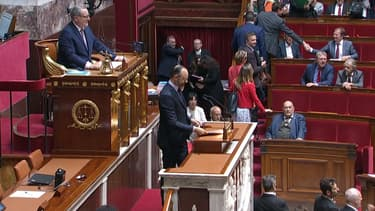 Le Premier ministre Édouard Philippe pour sa déclaration de politique générale à l'Assemblée Nationale le 12 juin 2019
