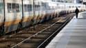 Selon la direction de la SNCF, le trafic va s'améliorer lundi au 14e jour de la grève reconductible contre la réforme des retraites, avec plus de 90% des TGV au départ ou à l'arrivée de Paris et six TGV sur 10 en province. /Photo prise le 18 octobre 2010/