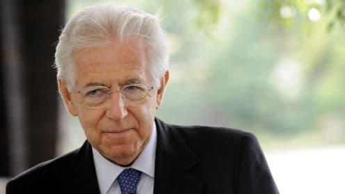 Mario Monti, le Premier ministre italien