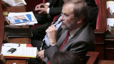 Jean-Jacques Candelier à l'Assemblée Nationale.
