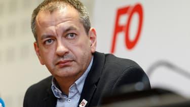 Le secrétaire général du syndicat Force ouvrière, Pascal Pavageau.