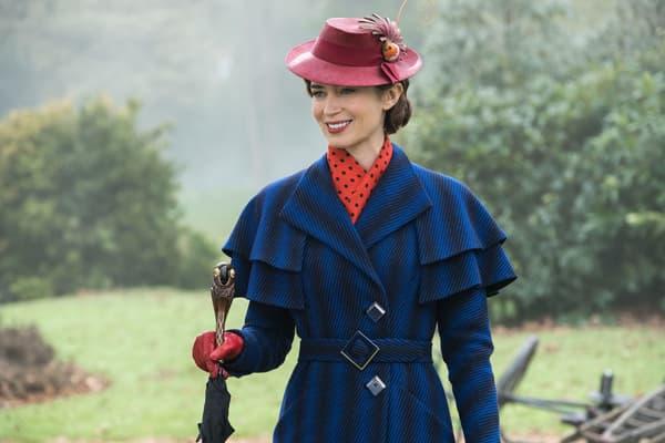 Emily Blunt dans Le Retour de Mary Poppins