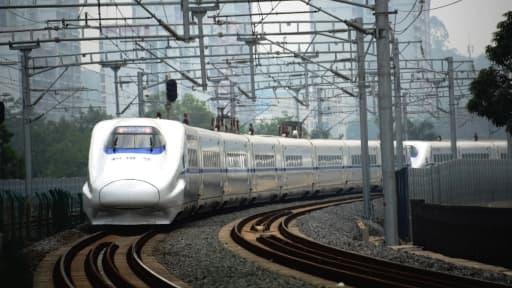 Pour 12 millions de yuans, les entreprises peuvent voir leur nom s'afficher sur les trains chinois.