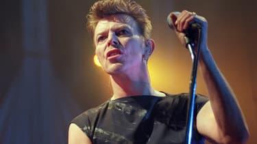 David Bowie en février 1996