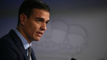 Pedro Sanchez, le Premier ministre espagnol, le 14 décembre 2018 à Bruxelles