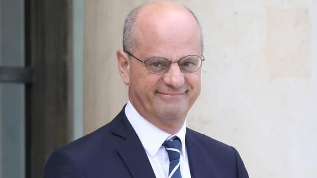 Le ministre de l'Education nationale Jean-Michel Blanquer à l'Elysée, le 2 octobre 2019