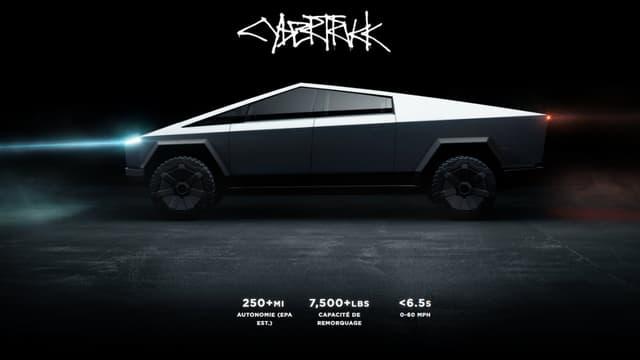 La page de précommande du Cybertruck sur le site officiel de la marque californienne
