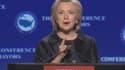 """Pour Hillary Clinton, le récent massacre """"oblige une fois de plus la nation à s'efforcer de donner un sens à une violence fondamentalement insensée""""."""