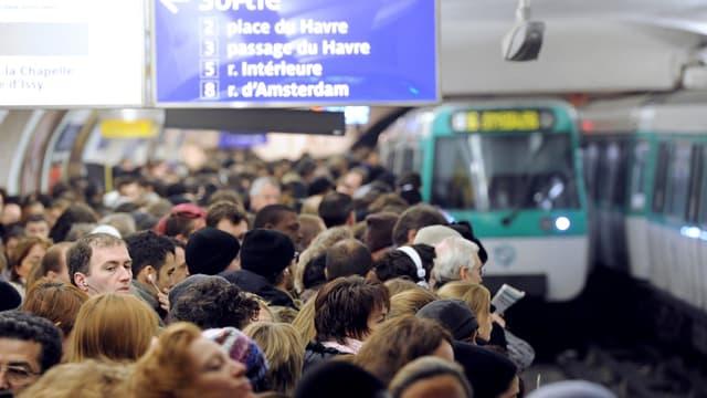 Les transports en commun franciliens.