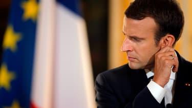 Emmanuel Macron à l'Elysée, le 16 juillet 2017.