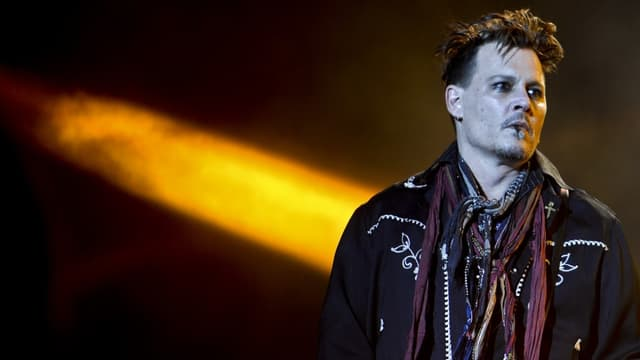 Johnny Depp, le 28 mai 2016