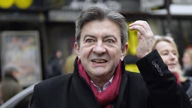 """Jean-Luc Mélenchon a qualifié d'""""énorme"""" la condamnation pour diffamation des trois personnalités de l'UMP."""