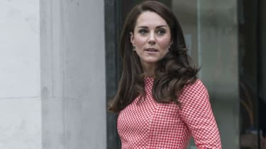 Kate Middleton à Londres en 2017