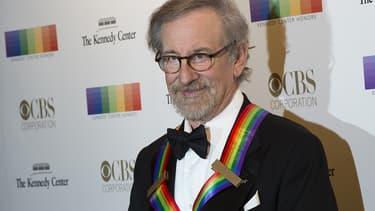Steven Spielberg le 6 décembre 2015