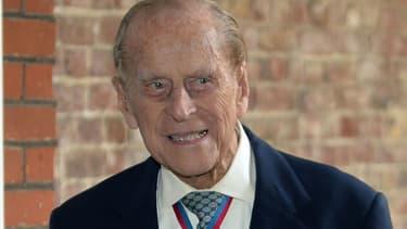 Le prince Philip à Londres en 2017