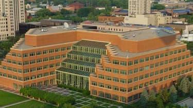 Le siège mondial de Kellogg, dans le Michigan