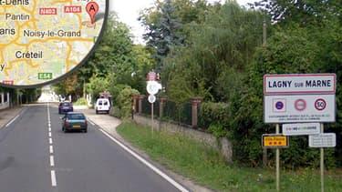La ville de Lagny-sur-Marne.