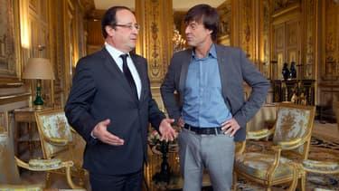 Nicolas Hulot est reçu vendredi à l'Elysée par François Hollande pour préparer la Conférence climat de Paris.