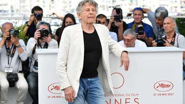 Roman Polanski à Cannes le 27 mai 2017