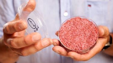 Un steak artificiel produit par Mosa Meat