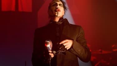 Marilyn Manson le 5 février 2015 en concert à Chicago