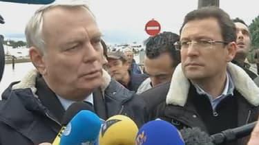 Le Premier ministre Jean-Marc Ayrault, dans le Var.