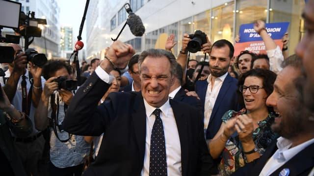 Président sortant de la région Provence-Alpes-Côte d'Azur, Renaud Muselier a été élu face à Thierry Mariani, tête de liste du Rassemblement national.
